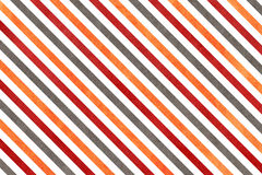 Watercolor orange, dark red and grey striped background. Stock Photos