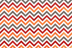 Watercolor orange, dark red and grey stripes background, chevron. Royalty Free Stock Photos