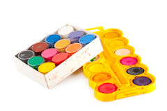 Watercolor paint Stock Photo