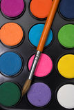 Watercolor paint Stock Images