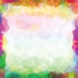 Watercolor paint. Colorful background watercolor paint with circles royalty free illustration