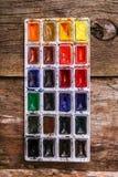 Watercolor paint Stock Photo