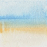 Watercolor paint on old paper background Royalty Free Stock Image