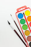 Watercolor Paint Set Royalty Free Stock Photos