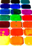 Watercolor paintbox Royalty Free Stock Photo