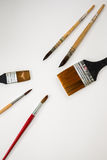 Watercolor paintbrush Royalty Free Stock Photo