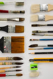 Watercolor paintbrush Royalty Free Stock Photos