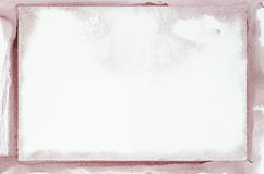 Watercolor painted frame Royalty Free Stock Photo