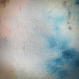 Watercolor painted on paper texture Stock Image