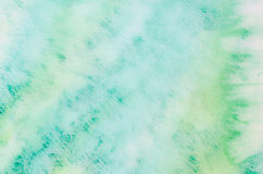 Watercolor painting abstract background Stock Photography