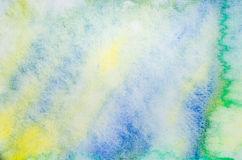 Watercolor painting abstract background Royalty Free Stock Photography