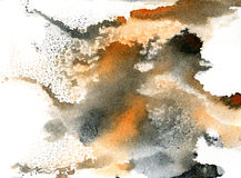 Watercolor painting background. royalty free illustration