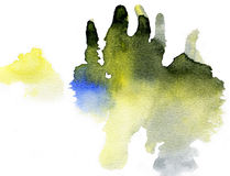 Watercolor painting background. royalty free stock images