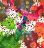 Watercolor painting blot background. Abstract watercolor painting blot background Royalty Free Stock Photo