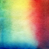 Watercolor painting. Blue, white, pink, yellow Royalty Free Stock Image