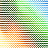 Watercolor painting. geometric pattern with Stock Photo
