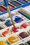 Watercolor Painting Set Royalty Free Stock Photography