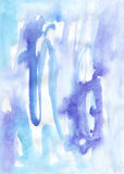 Watercolor painting soft aging background Royalty Free Stock Images