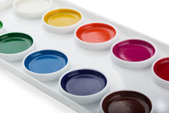 Free Watercolor Paints Royalty Free Stock Photography - 17471997