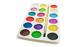 Watercolor paints. Royalty Free Stock Images