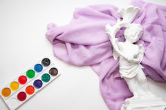 Watercolor paints Royalty Free Stock Photo