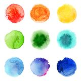 Watercolor palette Royalty Free Stock Photos
