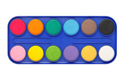 Watercolor palette Royalty Free Stock Photography