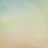 Watercolor paper background texture Stock Photography
