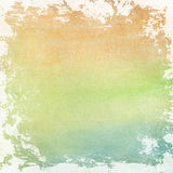 Watercolor paper background texture Royalty Free Stock Photo