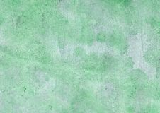 Watercolor background of green color royalty free stock photography