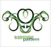 Watercolor pattern Stock Images