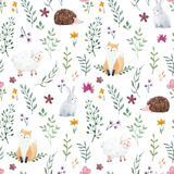 Watercolor pattern for children stock illustration