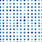 Watercolor pattern design Stock Image