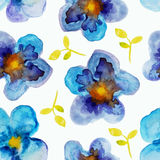 Watercolor pattern Stock Photos