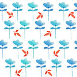 Watercolor pattern Royalty Free Stock Photos