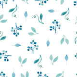 Watercolor pattern Royalty Free Stock Photo