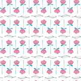 Watercolor pattern Stock Image