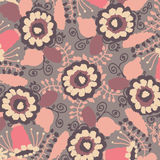 Watercolor pattern in pastel colors Stock Photography