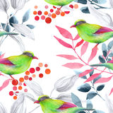 Watercolor pattern Royalty Free Stock Image