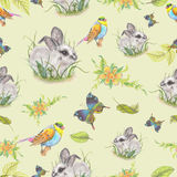 Watercolor pattern Royalty Free Stock Photography