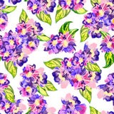 Watercolor pattern Stock Photography
