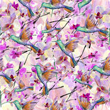 Pattern. watercolor Stock Image