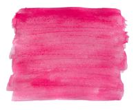 Watercolor Pink Background. Stock Image
