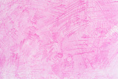 Watercolor pink crayon background Royalty Free Stock Images