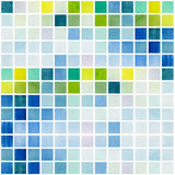 Watercolor pixel pattern background. Colorful watercolor pixel pattern background Stock Images