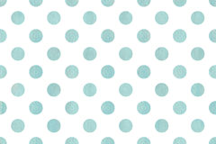 Watercolor polka dot background. Royalty Free Stock Photos