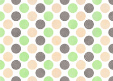 Watercolor polka dot background. Stock Photos