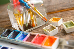 Watercolor Stock Photo