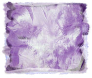 Watercolor purple abstract background Royalty Free Stock Image