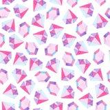 Watercolor purple brilliant pattern. For design, print or background.  Stock Photo